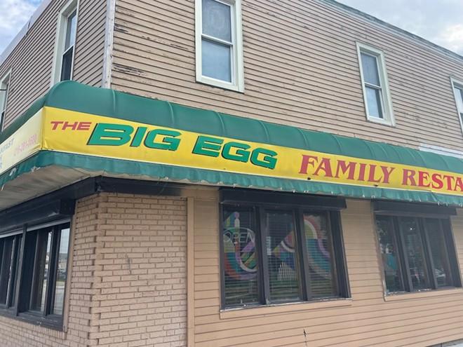 The Big Egg has clsoed - VINCE GRZEGOREK/SCENE