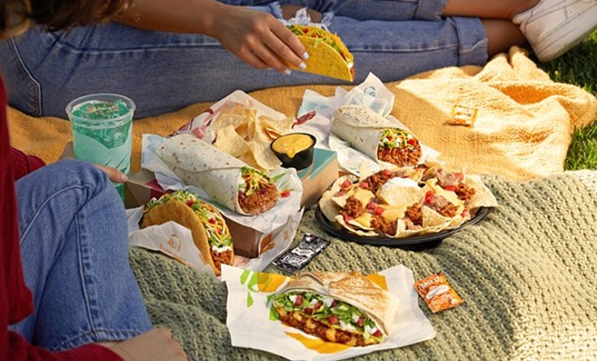 """Taco Bell is introducing a plant-based """"Cravetarian"""" menu in Detroit. - COURTESY TACO BELL"""