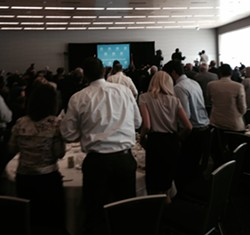 Standing O for Yellen! - SAM ALLARD / SCENE