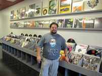 Jerrod Woll hopes to have his Hollow Bone Records open by Sept. 1. - JEFF NIESEL