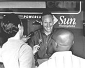 Shapiro, then the team's GM, in 2003 - WALTER NOVAK
