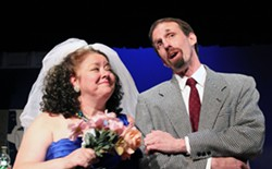 "Lisa and Tim Hirzel in ""My Way: A Musical Tribute to Frank Sinatra"" - HUNTINGTON PLAYHOUSE FACEBOOK"