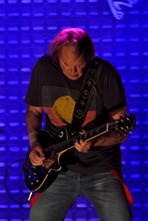 Neil Young, performing at Wolstein Center. - JOE KLEON