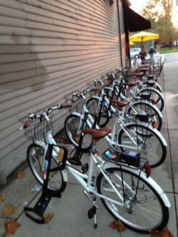 Zagster station in Tremont. - SAM ALLARD / SCENE