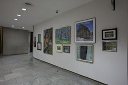 The Cleveland Museum of Art's Staff Art Show 2012. Image by David Brichford