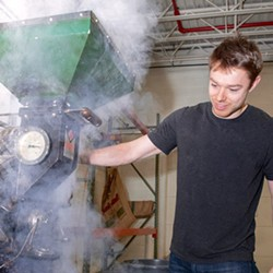 Delly: Master Roaster - PHOTO COURTESY OF CLEVELAND COFFEE CO.