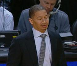 Does Coach Lue look how Cavs fans feel?
