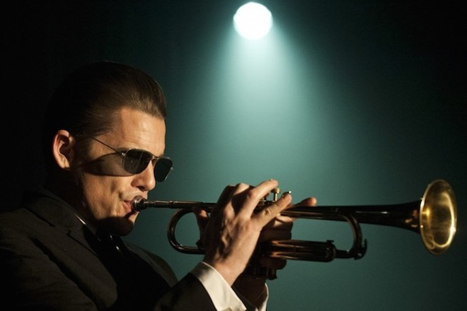Ethan Hawke as Chet Baker in Born to be Blue, at the Capitol Theatre