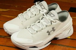 Stephen Curry's newest shoes for Under Armour look great on Shuffleboard Deck.