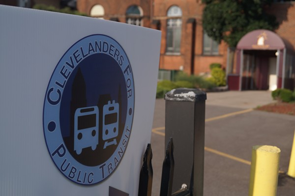 Clevelanders for Public Transit meeting at Antioch Baptist Church. - SAM ALLARD / SCENE