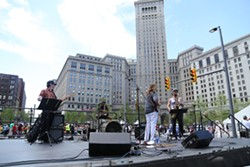 Public Square Grand Reopening Party - COURTESY EMANUEL WALLACE