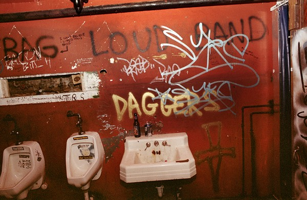 The men's room, best avoided at all costs. - KEN BLAZE