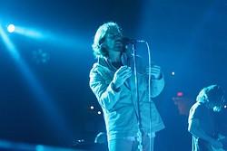 Pearl Jam performing at the Q in 2010. - AARON MENDELSOHN