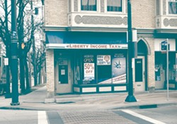 Liberty Income Tax, at Detroit & W. 65th. - SAM ALLARD / SCENE