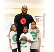 COURTESY LEBRON JAMES FAMILY FOUNDATION