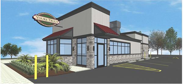 Rendering of new Beachwood exterior - RSA ARCHITECTS