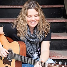 LOCAL SINGER-SONGWRITER KRISTINE JACKSON