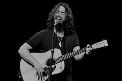 Chris Cornell performing in 2011 at the Lakewood Civic. - JOE KLEON