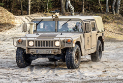 A typical Army Humvee, though not the stolen one. - PHOTO VIA HUMMERCENTRUM/INSTAGRAM