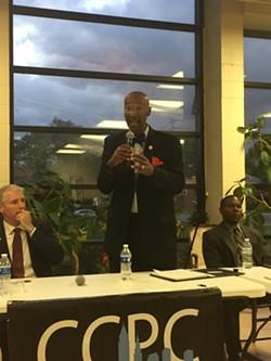 Bill Patmon; Mayoral Candidates' Forum 7/24/17 - SAM ALLARD / SCENE