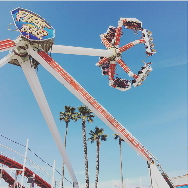 An example of the carnival ride that malfunctioned at the Ohio State Fair. - PHOTO VIA JUSTINJBUCHANAN/INSTAGRAM