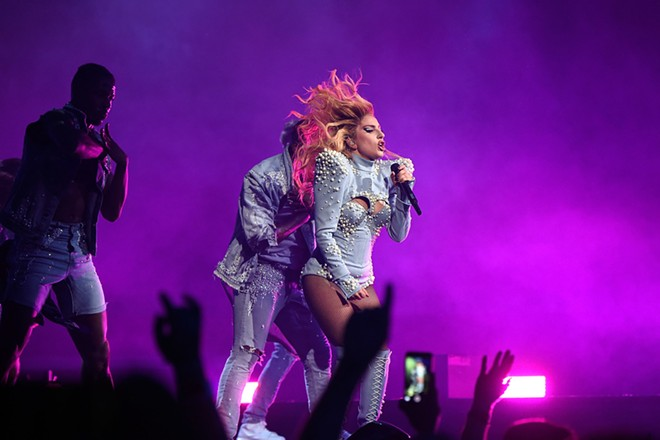 Lady Gaga performing in Vancouver. - GETTY IMAGES/KEVIN MAZUR