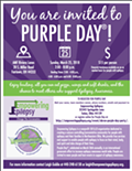 Akron Purple Day Party