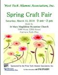 West Tech Alumni Spring Craft Show