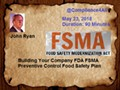 FDA FSMA Preventive Control Food Safety Plan