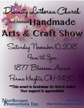 Divinity Lutheran Church Handmade Arts & Crafts Show