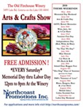 Old Firehouse Winery Arts & Crafts Show - Theme: Blue Hawaii!