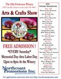 Old Firehouse Winery Arts & Crafts Show - Theme: British Isles/Celtic/Scottish Fest!