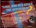 """Mystery Dinner Theater Near Mentor, Ohio - """"Lord, Who Dun Stole the Offering?"""""""
