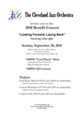 Cleveland Jazz Orchestra Annual Benefit, 9/30
