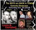 THE BOYS ARE BACK IN TOWN COMEDY SHOW