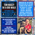 21st Annual Tom Madzy 5K & Dog Walk