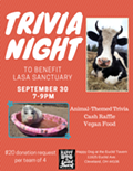Trivia Night to Benefit Lasa Sanctuary