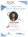 John Gadd, President & CEO, Hotcards to be honored on November 29, 2018