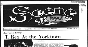 Rewind: 48 Years Ago On This Date T. Rex Made the Cover of Cleveland Scene
