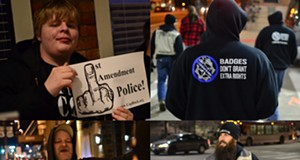 Pictures of Cop Block in Cleveland