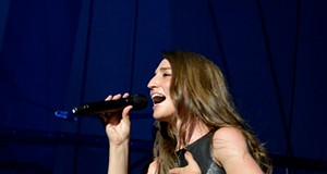 Sara Bareilles, Emily King and Hannah Georgas Performing at Jacobs Pavilion