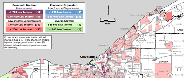 Study: Cleveland Continues to Experience Significant Neighborhood Economic Decline, Little Measurable Growth