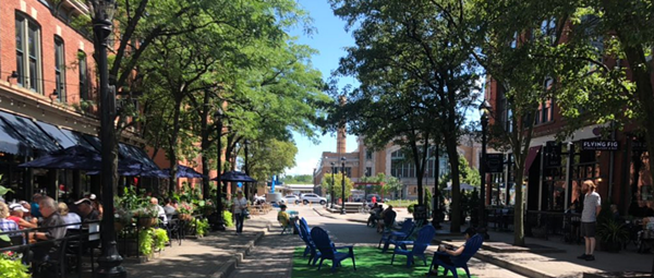 Cleveland City Council Passes Ordinance to Allow Outdoor Dining, Drinking in Parking Lots, Streets, Other Rights-of-Way