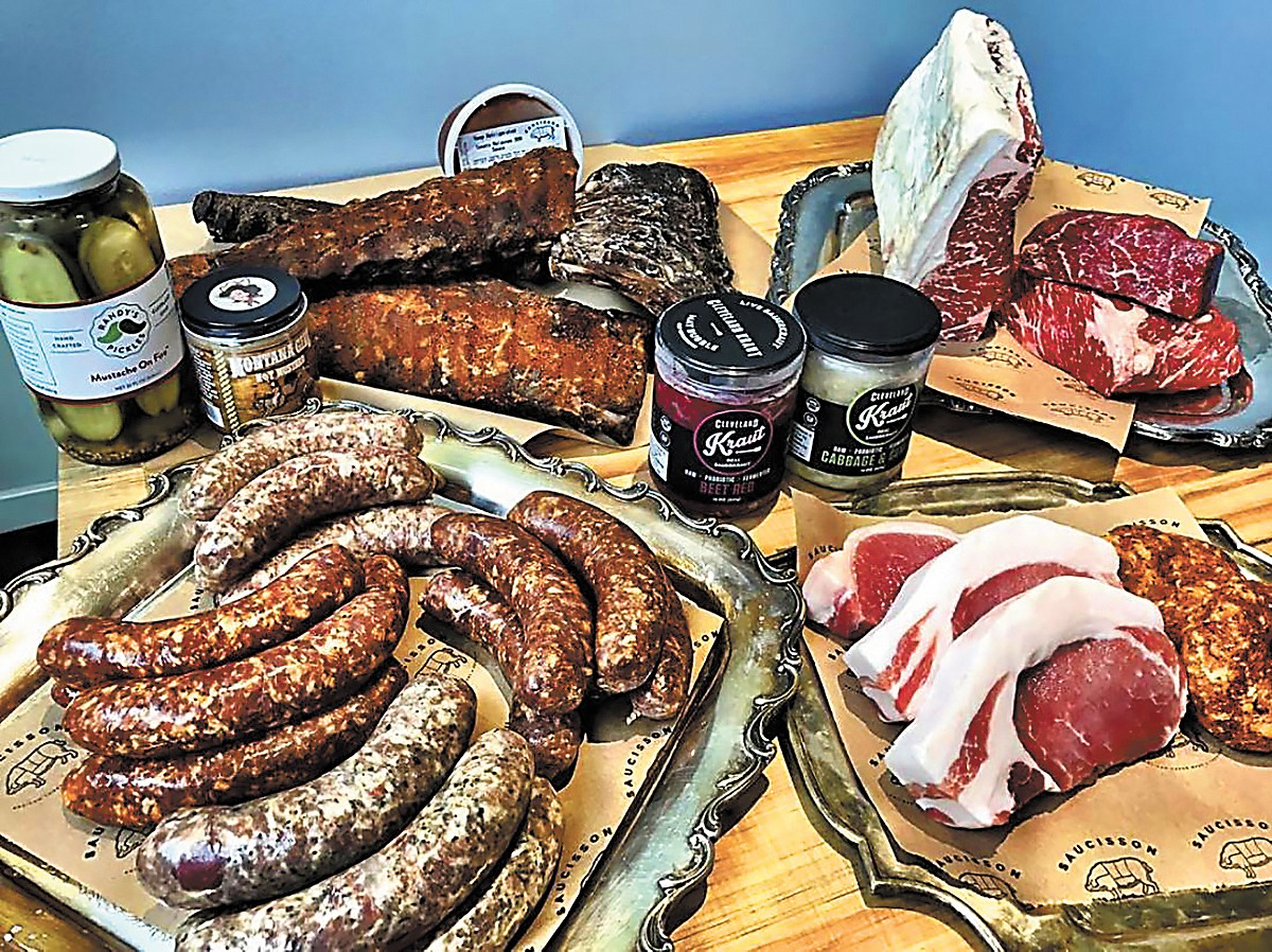 Saucisson, home to the lady butchers of Fleet Avenue