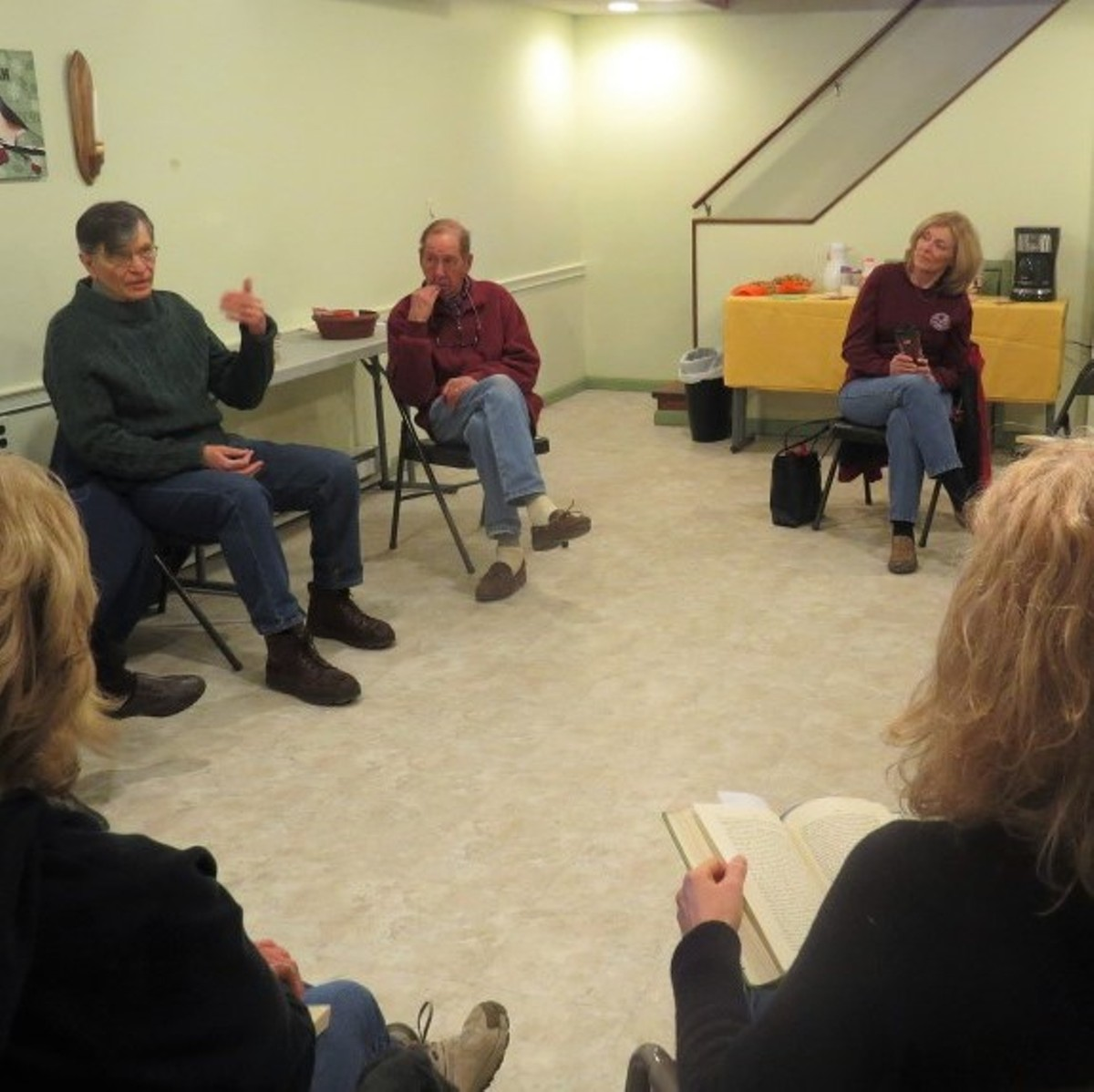 Book Discussion Guided Hike Beech Creek Botanical Garden Nature Preserve Books Lit