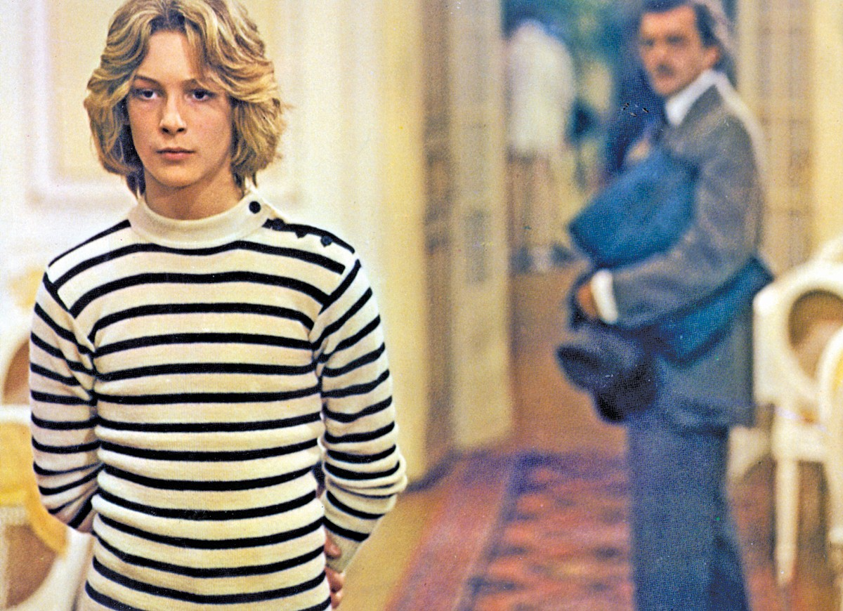 A scene from Luchino Visconti's Death in Venice.