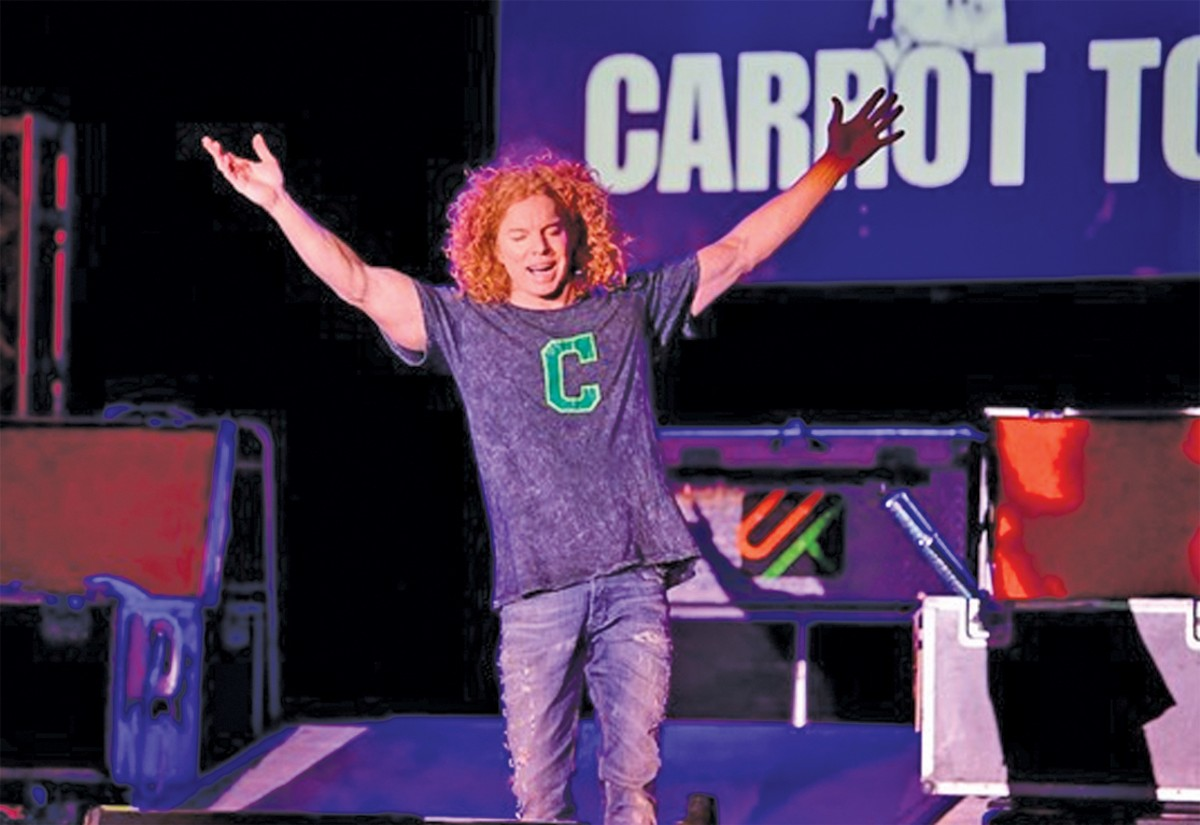 Carrot Top comes to MGM Northfield Park Center Stage. See: Thursday.