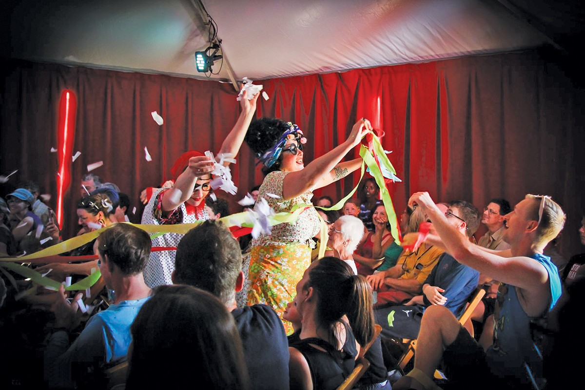 The vaudeville duo Pinch & Squeal will perform as part of the BorderLight Festival. See: Wednesday.