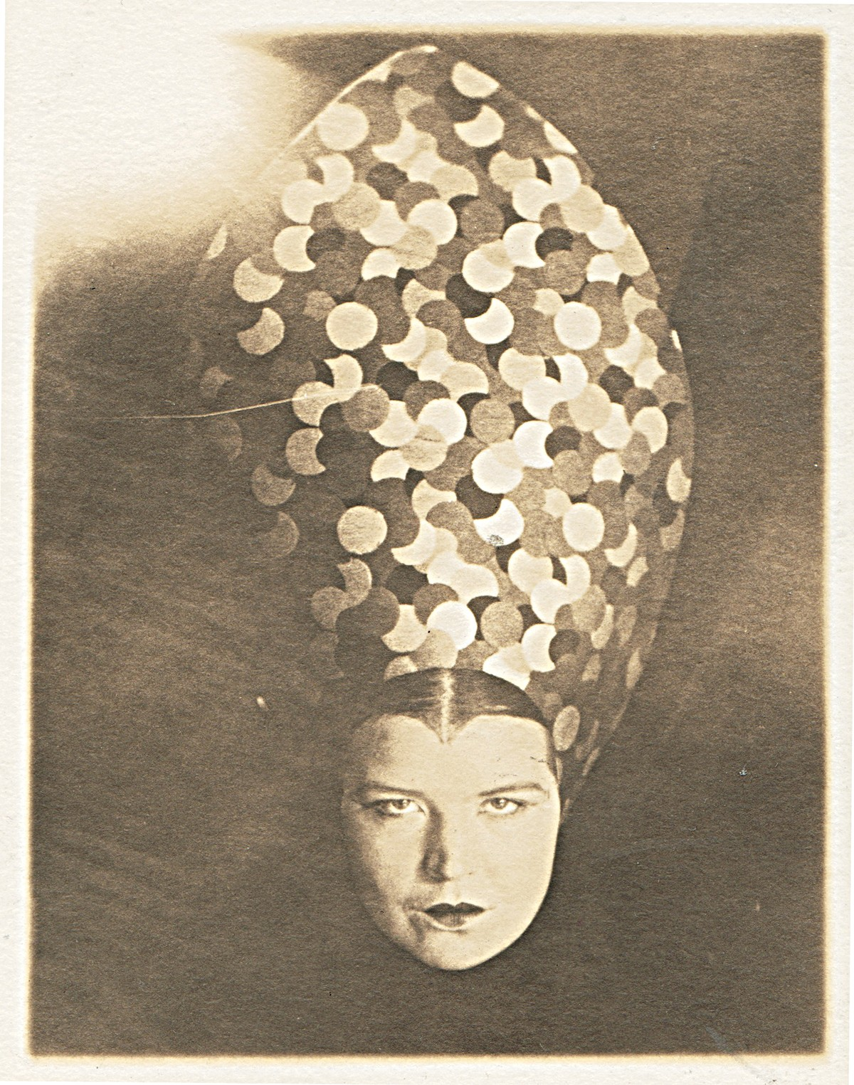 """Untitled (Courtney with Headdress)"" is on view at the Buckland Museum."