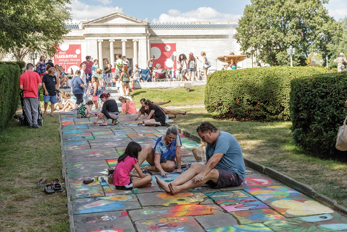 The annual Chalk Festival returns to the Cleveland Museum of Art. See: Saturday.